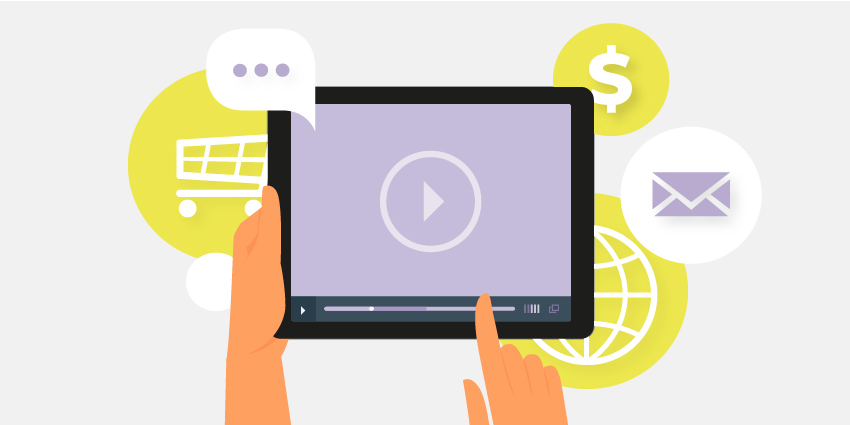 Image about video messaging